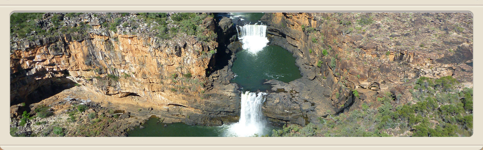 waterfalls in the Kimberley