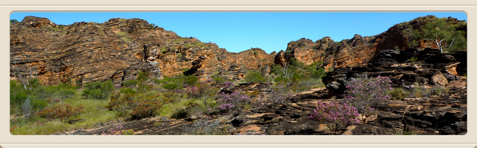 rock formations in The Kimberley