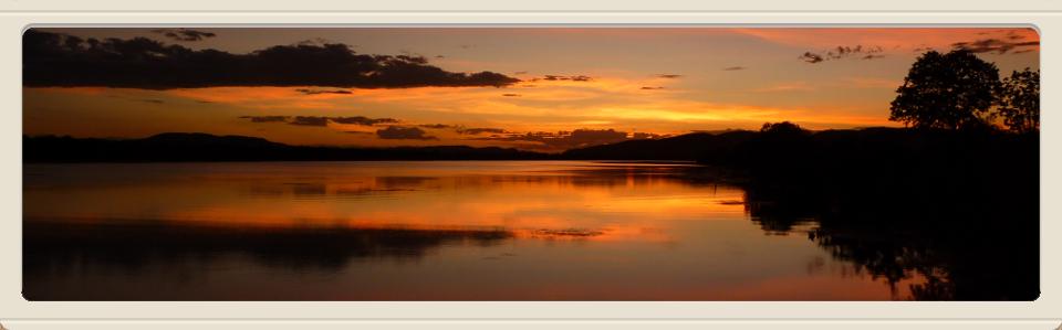 Lily Creek Lagoon at sunset